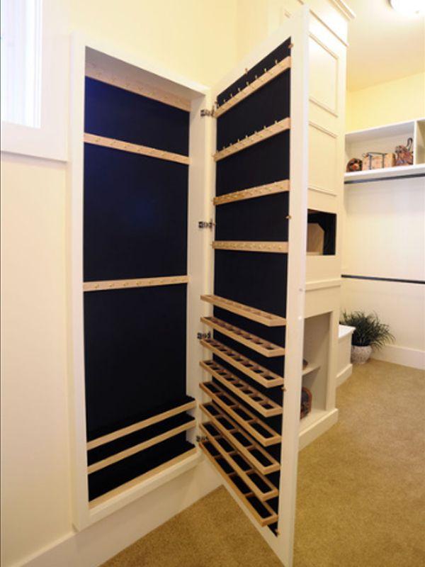 Master Bedroom: Closet, Jewelry storage