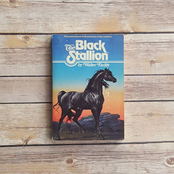 New in The Book Cottage: Black Stallion Walter Farley Kids Tale Little Girls Horse Story Teen Paperback Horse Lover Gift Fun Horse Adventure Story for Youngsters by TheBookCottage