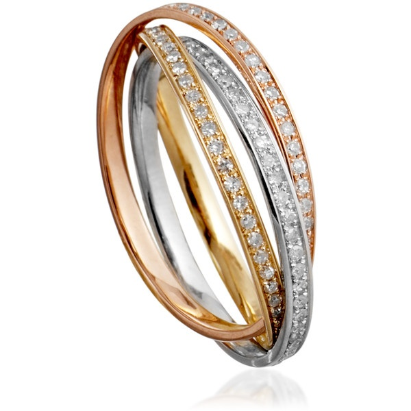 astley clarke muse diamond russian wedding rings 2565 liked on polyvore - Russian Wedding Ring