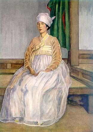 The Widow_1919 by Elizabeth Keith