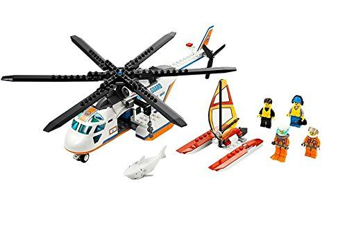 LEGO CITY Coast Guard Patrol Helicopter with Minifigures  Catamaran  60013 ** Want to know more, click on the image.Note:It is affiliate link to Amazon.