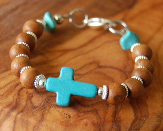 Baptism Gift For Godson. Baby Boy Bracelet.Olive Wood by EkoLine