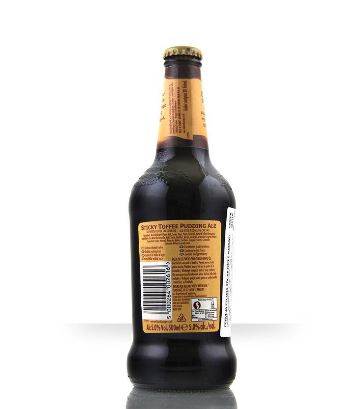 """Uma cerveja de coloração cobre escuro, com aromas doces de torta de caramelo (""""toffee"""") e biscoito. Na boca tem bom corpo e é inicialmente doce. Logo depois os sabores e aromas dos tradicionais lúpulos ingleses 'Fuggles' e'Goldings"""" dão a cerveja um delicado e elegante amargor. Sticky Toffee Pudding Ale significa """"Pudim de Ale de Caramelo …"""