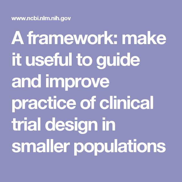 A framework: make it useful to guide and improve practice of clinical trial design in smaller populations