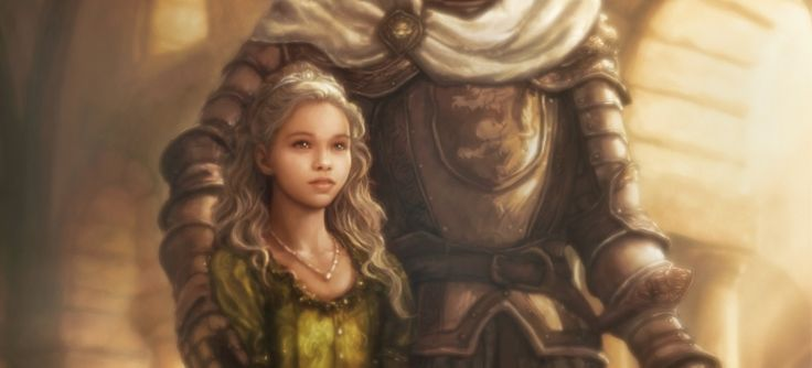 "A Game of Thrones - Myrcella by TheFirstAngel.deviantart.com on @deviantART ""Myrcella never shed a tear, though it was she who was leaving hearth and home to seal an alliance with her maidenhood. The truth was, the princess was braver than her brother, and brighter and more confident as well. Her wits were quicker, her courtesies more polished. Nothing ever daunted her, not even Joffrey. The women are the strong ones, truly."""
