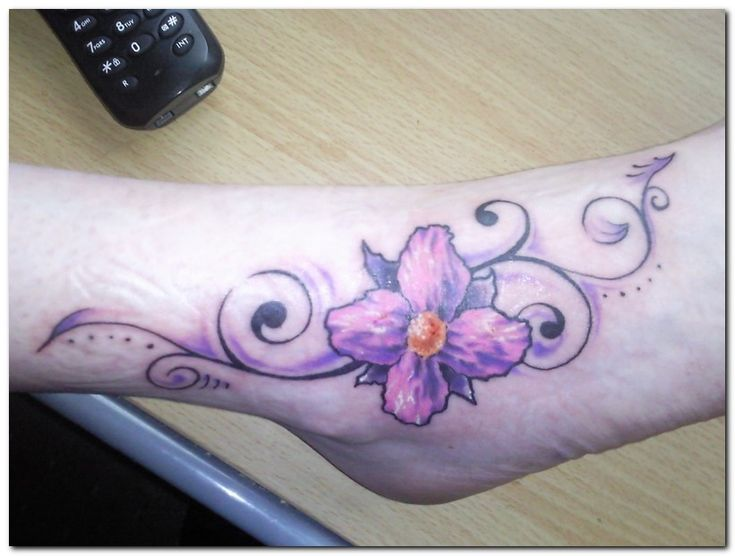 Orchid Flower and Tattoo Designs Pictures Gallery