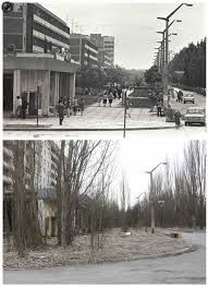 chernobyl photos before an after