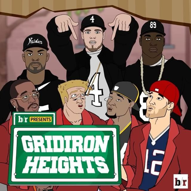 The AFC stars of #GridironHeights act like they forgot about the Raiders. Carr, Cooper and Crabtree announce their arrival, N.W.A.-style. Bleacher Report.