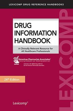 Drug Information HandBook PDF Free Download I 24th Edition - Medical Books Free For You
