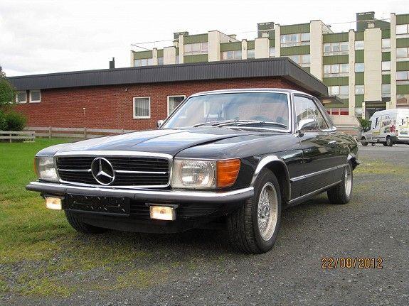 Mercedes benz sl 350 slc 1973 90 000 km kr 78 000 for Mercedes benz 350 slc