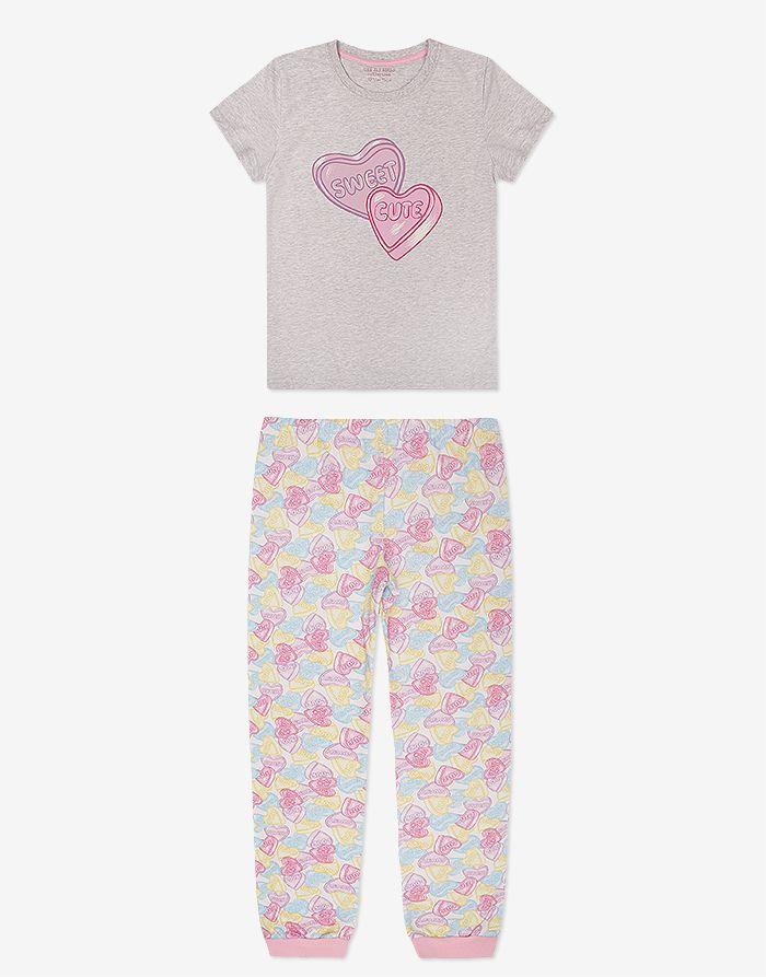 Пижама с сердечками - Глория Джинс 306d1bad3c4e4