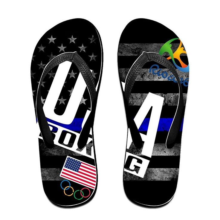 YYRBY Boxing At 2016 Rio Summer Olympics Beach Flip-Flops Slipper Sandals -- More info could be found at the image url.
