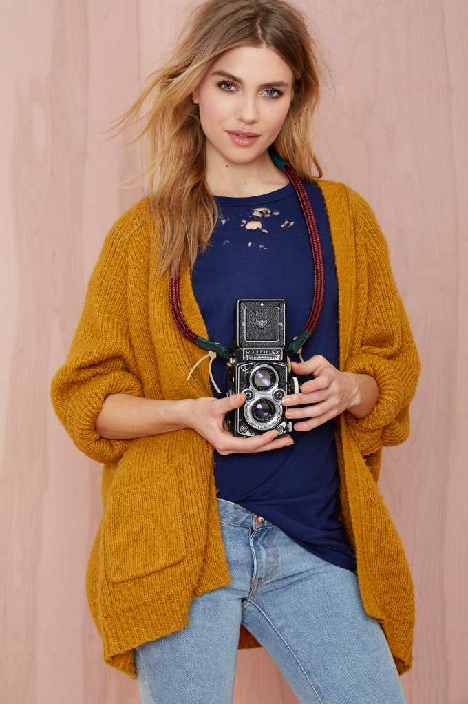 Sarah Frances Kuhn Frou-Frou Super Deluxe Camera Strap -