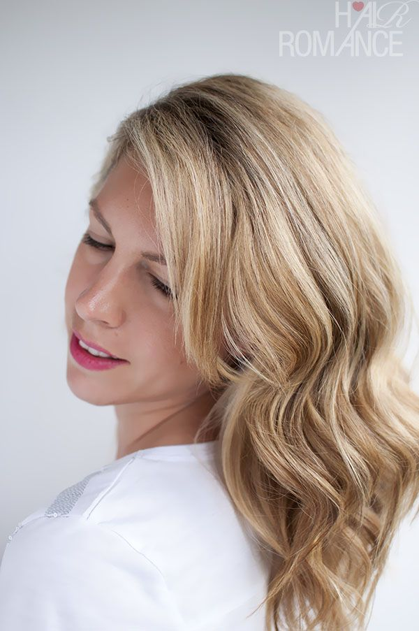 Hair Romance - soft loose waves hair tutorial