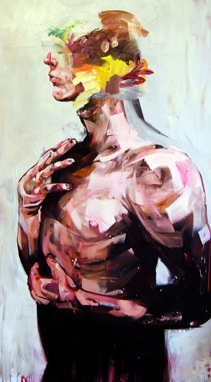 Andrew Salgado // Oil on canvas