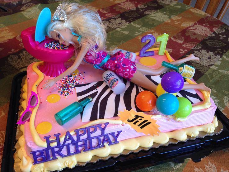 Drunk Barbie Cake Images : Drunk Barbie Cake Happy Birthday Pinterest Birthday ...