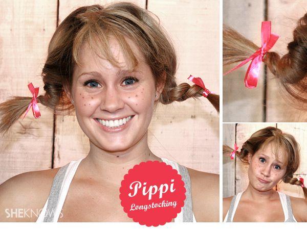 How to get Pippi Longstocking braids... hi Kylie!