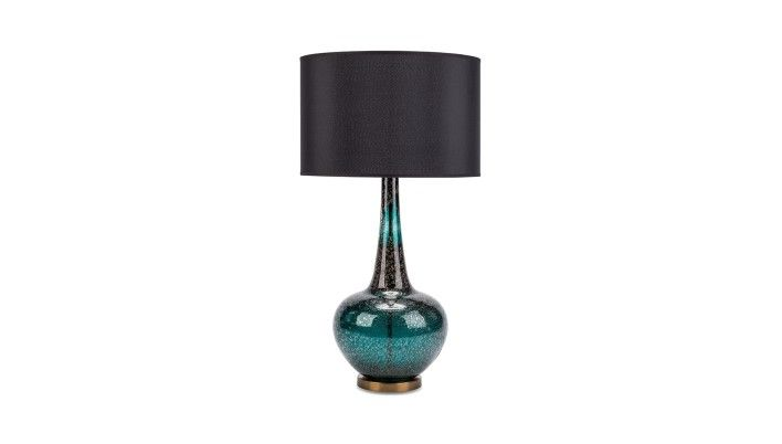 Heathfield & Co, Grace Tuscan Teal Table Lamp - Buy Online at LuxDeco