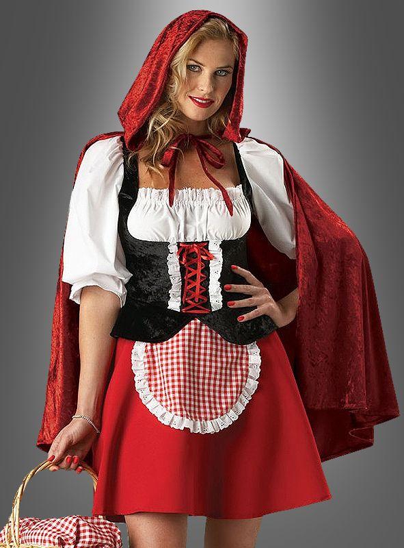 Super Deluxe Rotkäppchen Kostüm