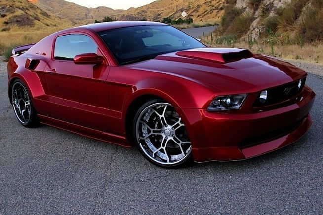 2012 Ford Mustang GT Custom SPX/Galpin Widebody. Oooooh(: Would be so much nicer if it was HOT PINK:)