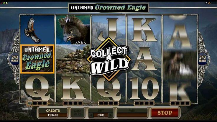 Untamed Crowned Eagle Slot Game - Platinum Play Casino