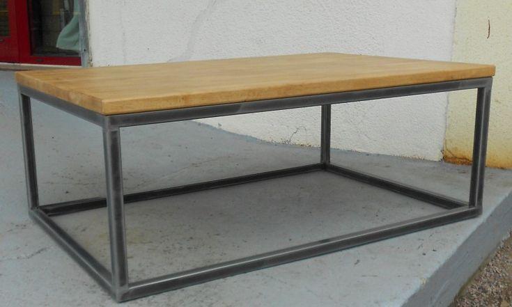 1000 ideas about table basse acier on pinterest mobilier acrylique welding table and tables - Table basse acrylique ...