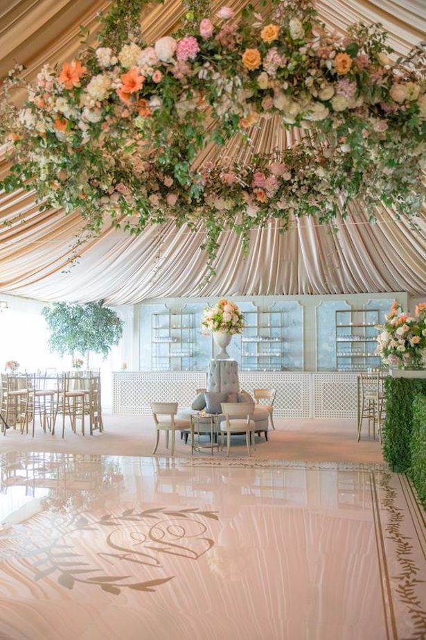 Trending-20 Tented Wedding Reception Ideas Youu0027ll Love | Tent wedding Greenery and Tents & Trending-20 Tented Wedding Reception Ideas Youu0027ll Love | Tent ...