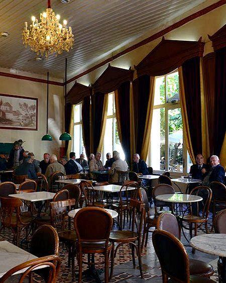Grand Café in Agiou Vasileiou square ~ Tripoli, Arcadia, Greece | by Dina Vitzileou
