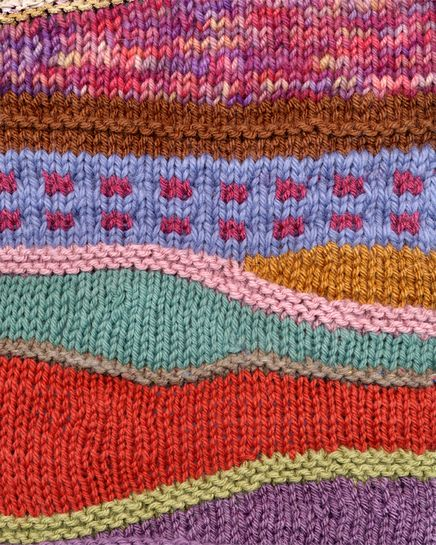 Creative Short Row Knitting | STITCHES South Registration | Knitting Universe