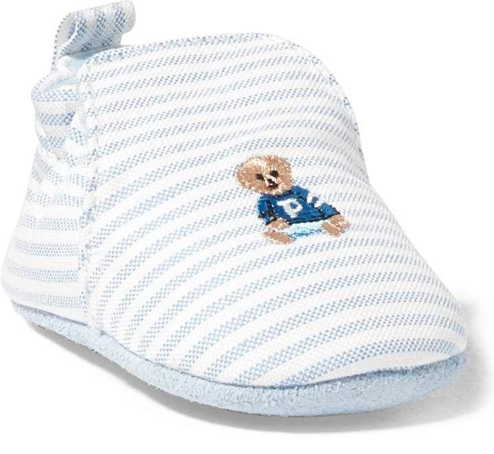 POLO RALPH LAUREN Kids Percie Crib Shoe