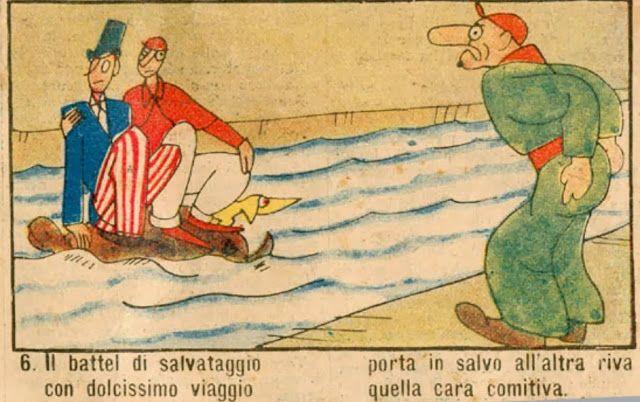 Adalingo: L'omino in Rosso : Una Storia dell'Italietta Nostra, dal Milione al Miliardo… e poi con l'Euro? di Rolando di Bari