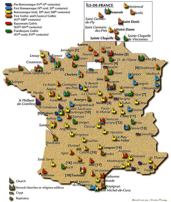 small churches of France | Back to France Photo & History Pages Books about France