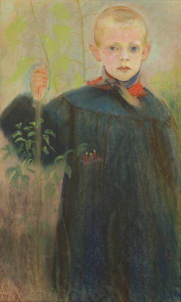 Chłopiec z kwiatem - Stanisław Wyspiański