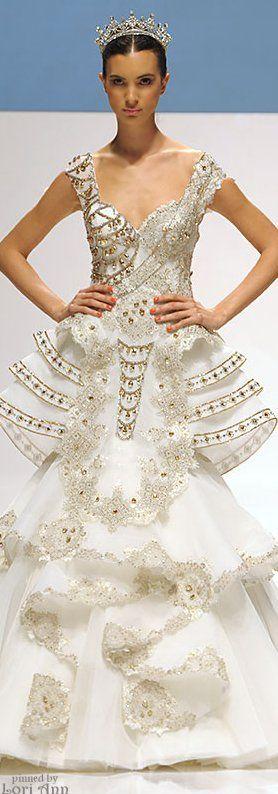Dar Sara Couture Bride 2014