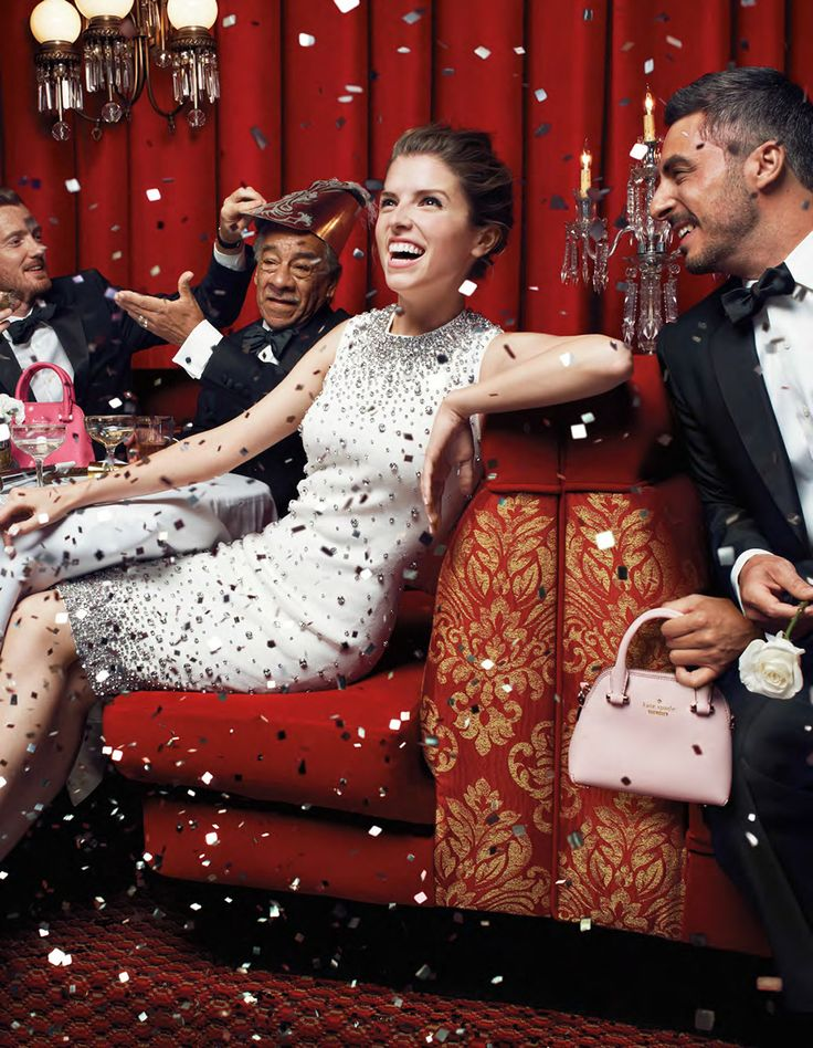 I want to be best friends with Anna Kendrick. Her @katespadeny campaign is SO fab.