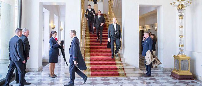 François Hollande, le jour de sa conférence de presse semestrielle, le 5 février dernier.