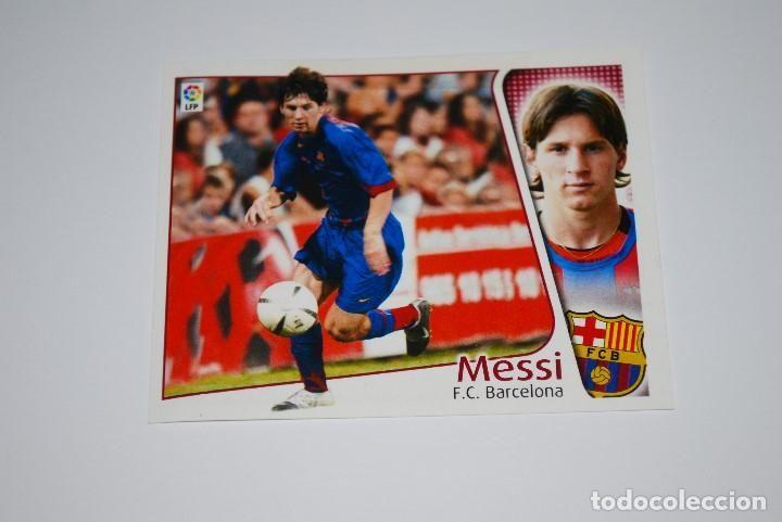 coloca messi 04 05 sin pegar - liga este - temporada - album - 2004 2005 - Foto 1