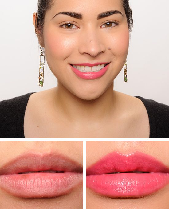Guerlain Attrape-Coeur (171) - spicy, cheerful pink.  Vibrant color-pink with warm undertones
