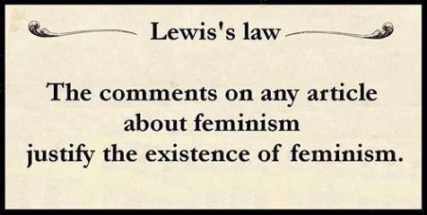 ARTICLE: Dumb comments we are tired of seeing made on feminist articles
