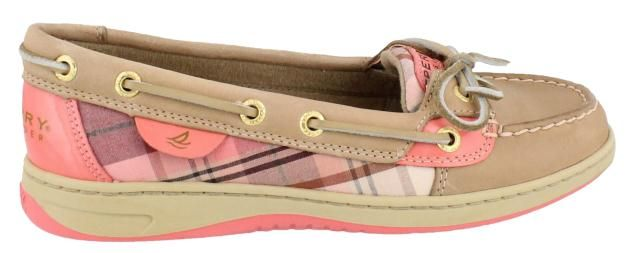 Sperry Women's Angelfish Slip On Boat Shoe.     For my girls. Too cute