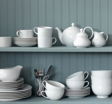 Dinnerware & Flatware Stock-Up -   Whether you're in everyday-meal or elegant-entertaining mode, this dinnerware and flatware will inspire you to create a beautiful — and complete — tabletop. Plenty of styles are on offer here, from transitional to modern.                                                           ...