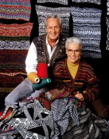 Ottavio and Rosita Missoni, 1989. Photographer: Giuseppe Pino