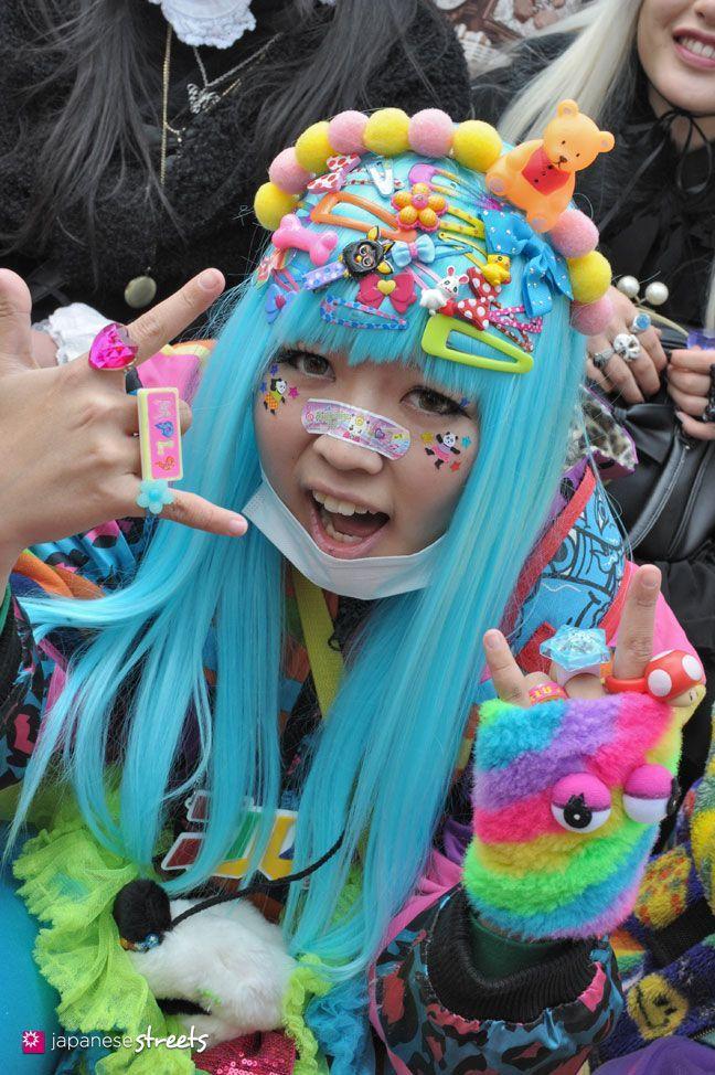 FASHION JAPAN: 29th Harajuku Fashion Walk a decora girl!