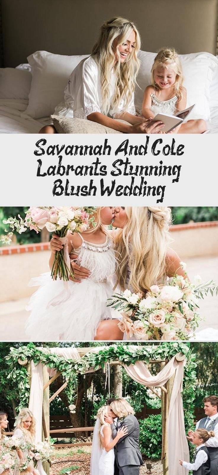 Savannah and Cole LaBrant's Stunning Blush Wedding - Inspired By This #TanBridesmaidDresses #BridesmaidDressesSummer #BridesmaidDressesHijab #BridesmaidDressesPurple #RedBridesmaidDresses