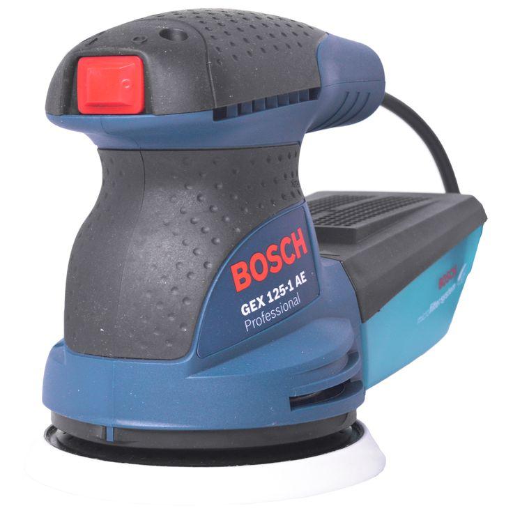 Compre agora!Lixadeira Roto Orbital 250W Gex 125-1 Ae Bosch - 220V  em atà© 5X sem juros ou atà© 15% de desconto à vista!