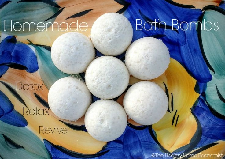 Luxurious Bath Bombs Recipe (that won't disrupt your hormones)