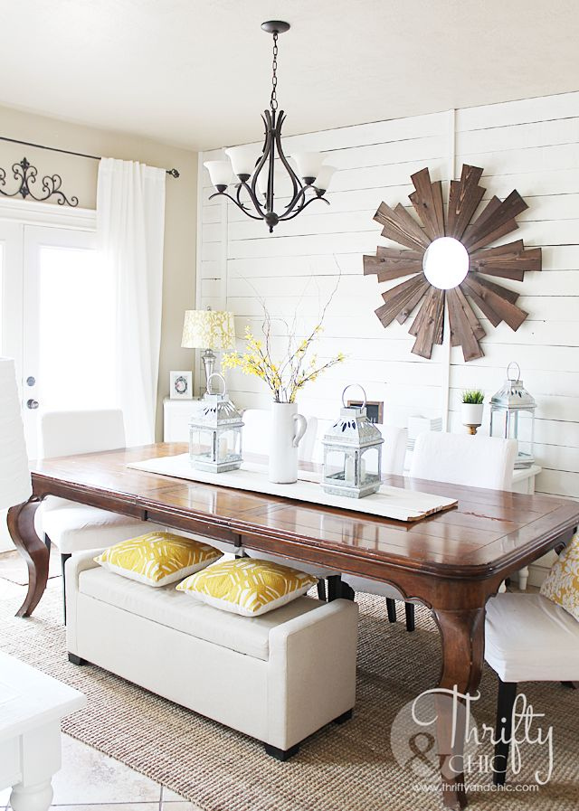252 best images about holidays spring on pinterest for Farmhouse dining room wall art