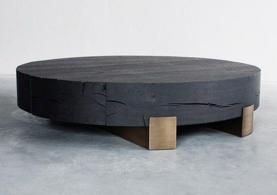 Beam limited round coffee table von Van Rossum   C…