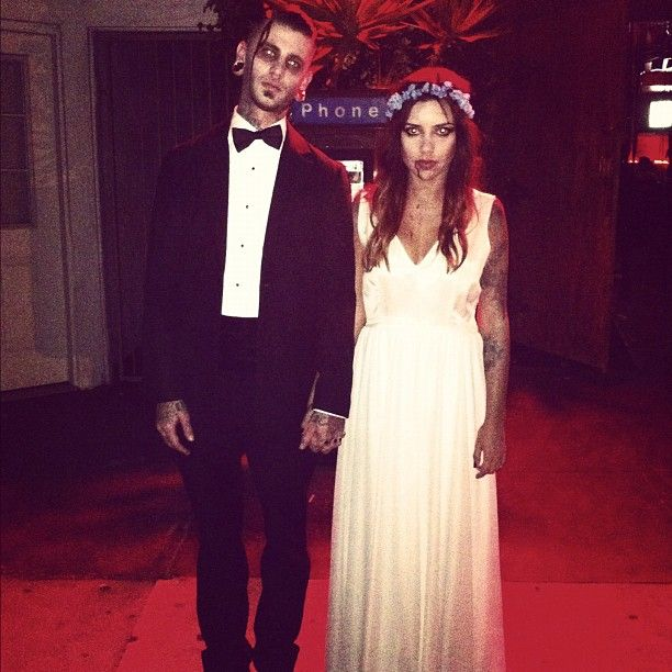 Til death do you part? Perhaps this gruesome twosome will give inspiration if you are attending as a couple!
