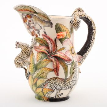 Ardmore ceramics: Leopard Jug